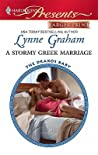 A Stormy Greek Marriage (The Drakos Baby #2)