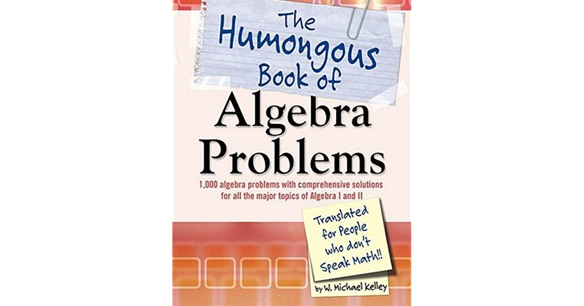 the humongous book of algebra problems pdf