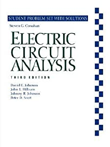 Electric Circuit Analysis: Student Problem Set with Solutions