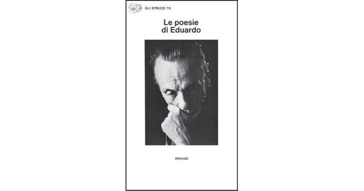 Le Poesie Di Eduardo By Eduardo De Filippo