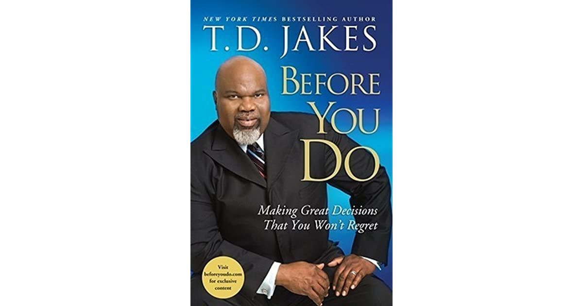 Before You Do Td Jakes Pdf