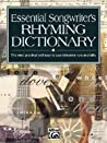 Essential Songwriter's Rhyming Dictionary: Pocket Size Book