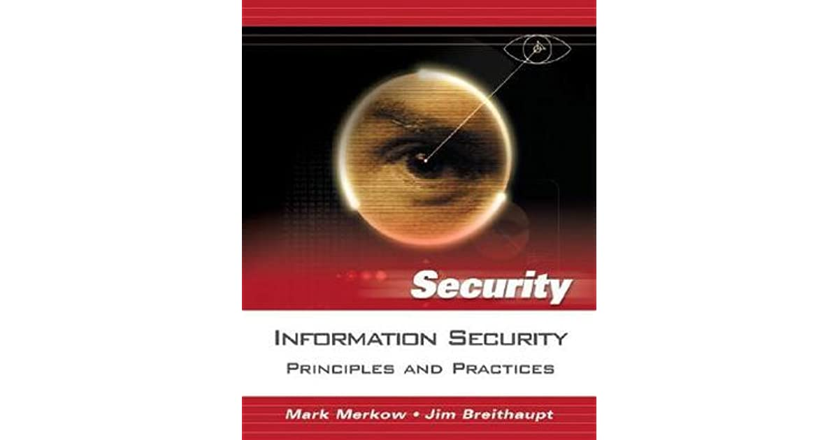 Information Security Principles And Practices Merkow Pdf