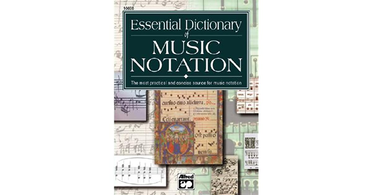 Essential Dictionary Of Music Notation Pocket Size Book By Tom Gerou