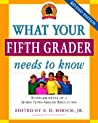 What Your Fifth Grader Needs to Know: Fundamentals of a Good Fifth-Grade Education (Core Knowledge Series)