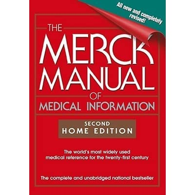 the merck manual of medical information by mark h beers rh goodreads com Merck Manual Inside Merck Manual Notes