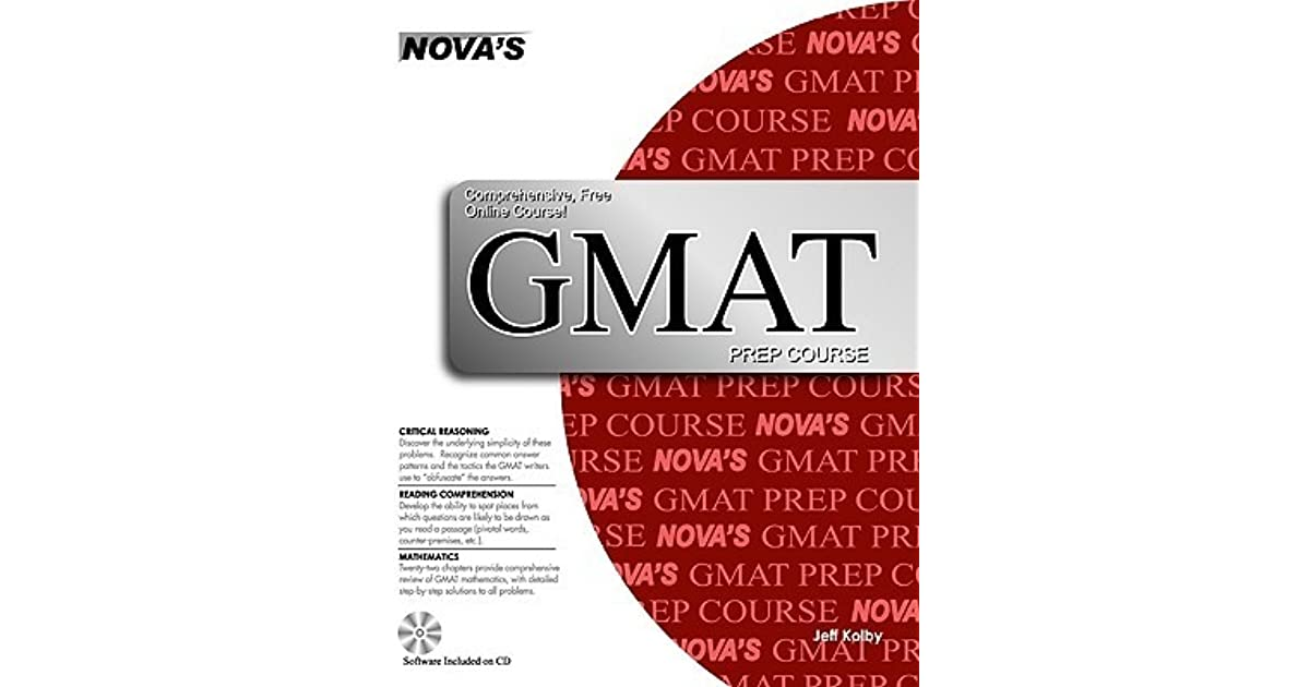 GMAT Prep Course [With CDROM] by Jeff Kolby