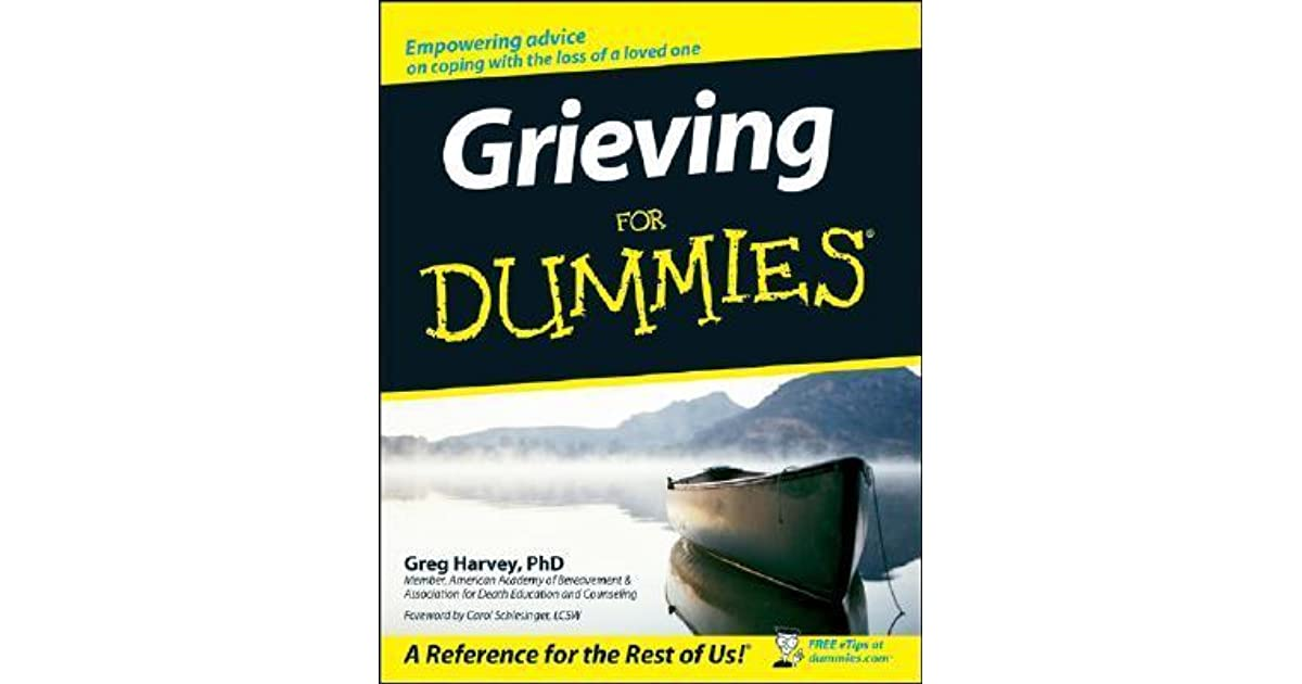 Grieving for dummies by greg harvey fandeluxe PDF