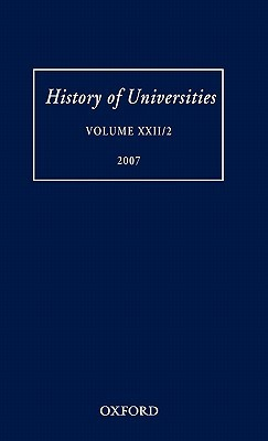 History of Universities: Volume XXII/2