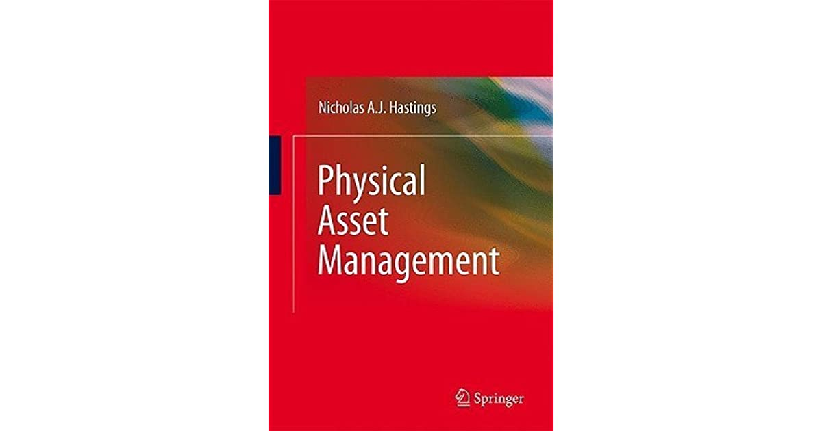 physical asset management with an introduction to iso55000