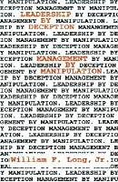Leadership by Deception: Management by Manipulation