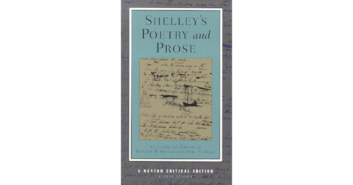 Poetry and prose by percy bysshe shelley fandeluxe Choice Image