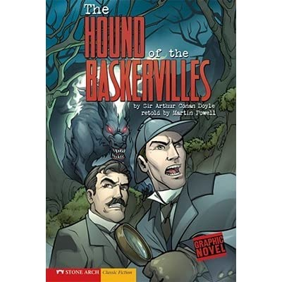 the hound of the baskervilles graphic revolve by martin powell