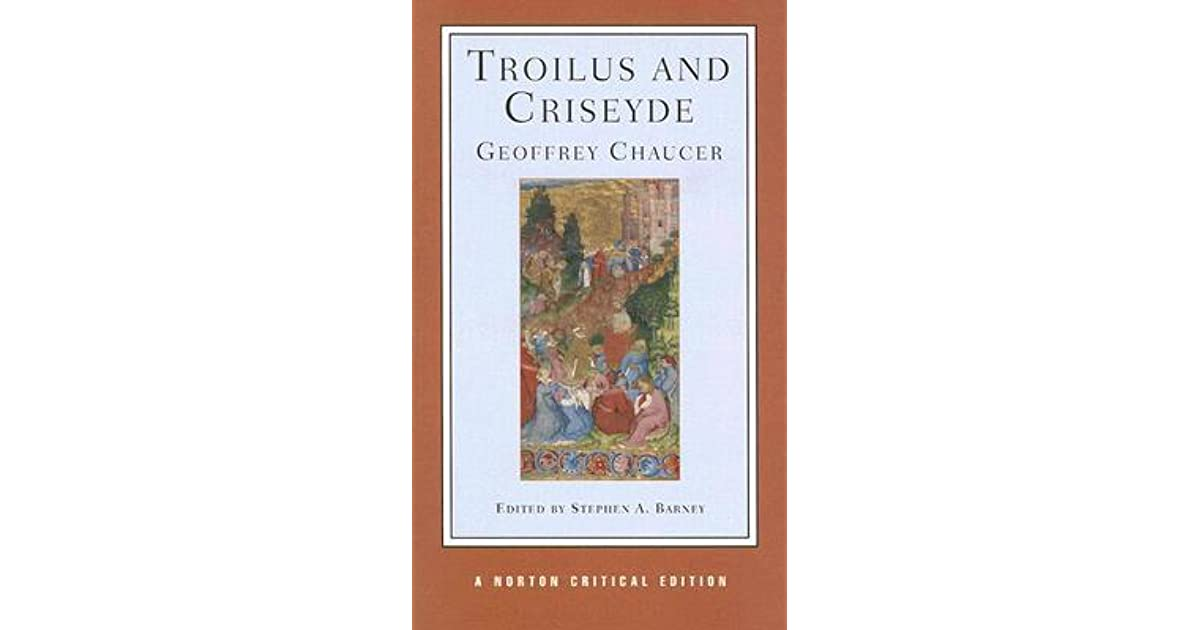 chaucers troilus and criseyde essay Essays and criticism on geoffrey chaucer's troilus and criseyde - critical essays.