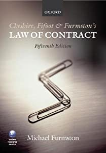 Cheshire, Fifoot and Furmston's Law of Contract