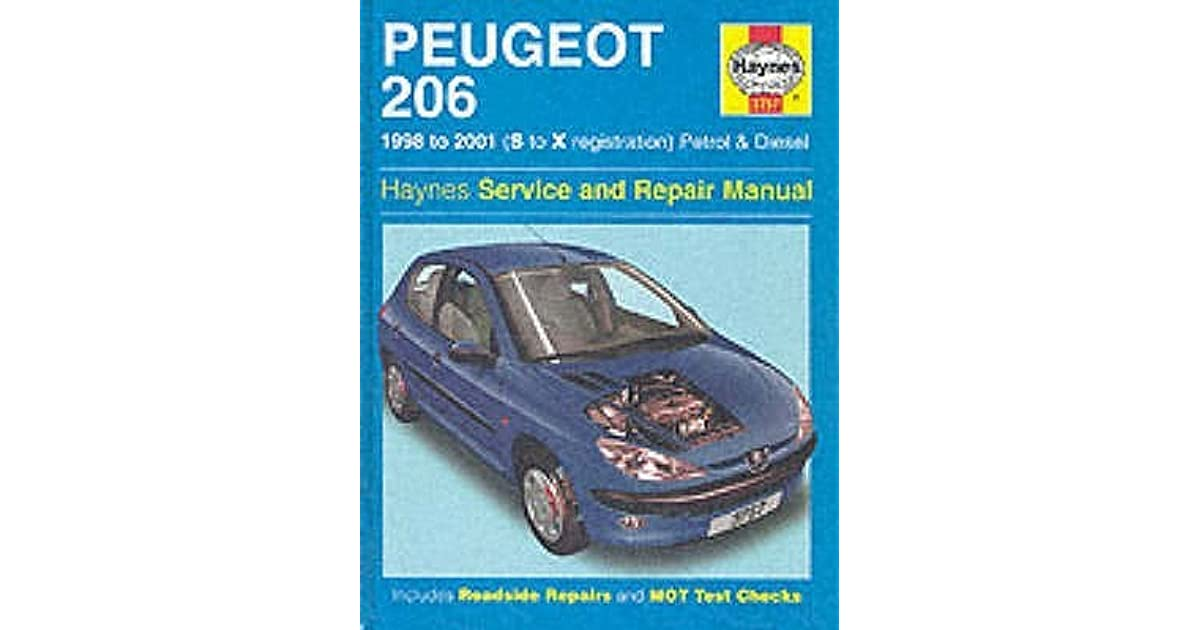 Peugeot 206 petrol and diesel service and repair manual by mark coombs fandeluxe Choice Image