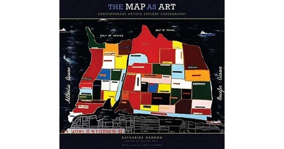 The map as art contemporary artists explore cartography by the map as art contemporary artists explore cartography by katharine harmon gumiabroncs Gallery