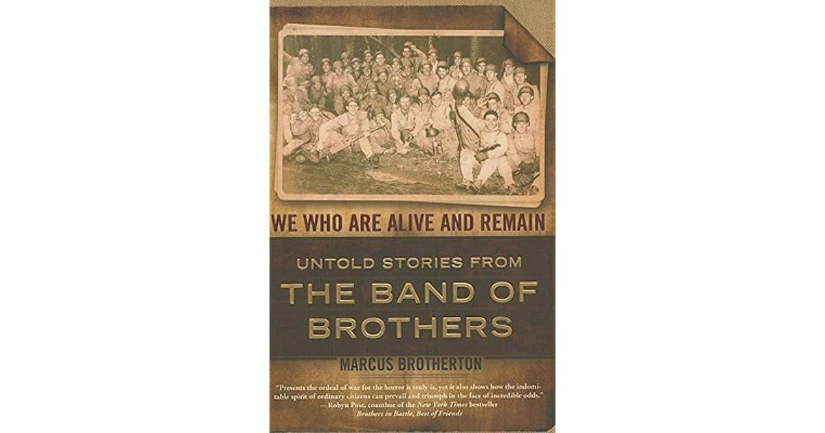 we who are alive and remain brotherton marcus