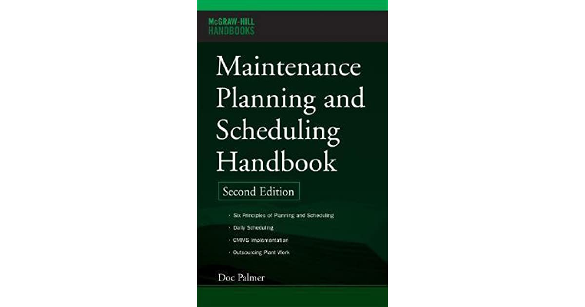 Maintenance Planning And Scheduling Book