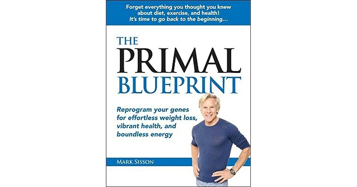 Mark Sisson Diet the primal blueprint: reprogram your genes for effortless weight