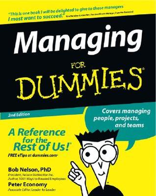 Managing for Dummies by Bob Nelson