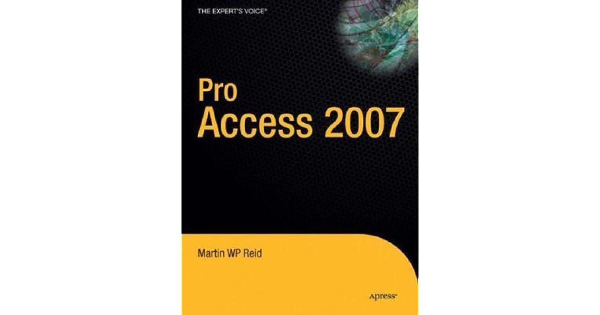 pro access 2007 reid martin