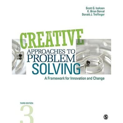 creative approaches to problem solving isaksen