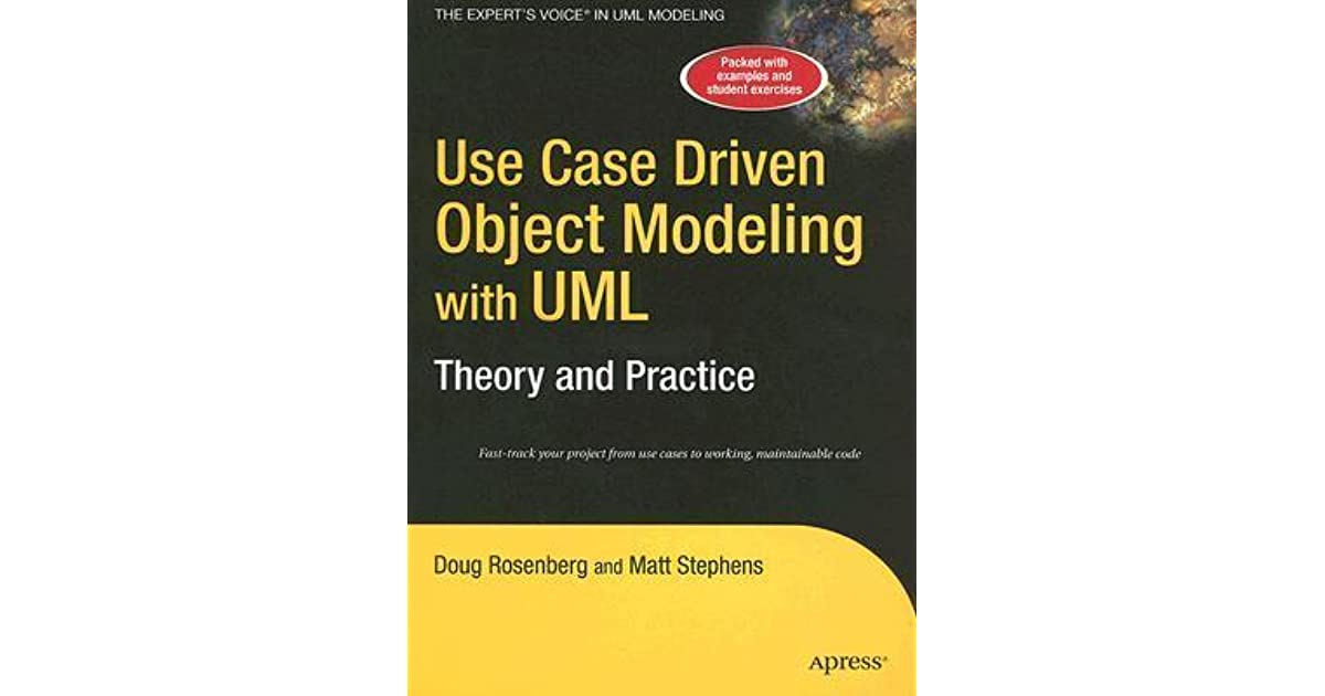 applying use case driven object modeling Book review applying use-case driven object modeling with uml: an annotated e-commerce example by doug rosenberg and kendall scott addison wesley professional, 2001.