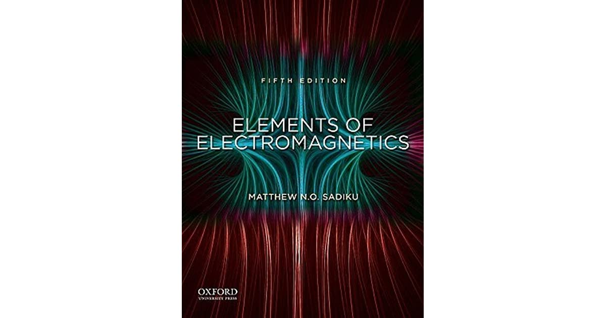 Engineering Electromagnetics By Sadiku Pdf