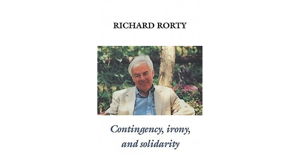 solidarity or objectivity by richard rorty Discover richard rorty famous and rare quotes share richard rorty quotations about country, belief and community always strive to excel, but only on weekends.