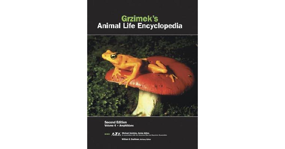 Amphibians Grzimeks Animal Life Encyclopedia