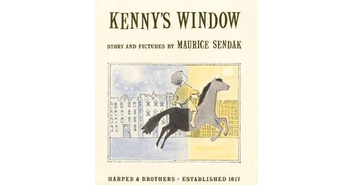 Kenny 39 s window by maurice sendak for Window quotes goodreads