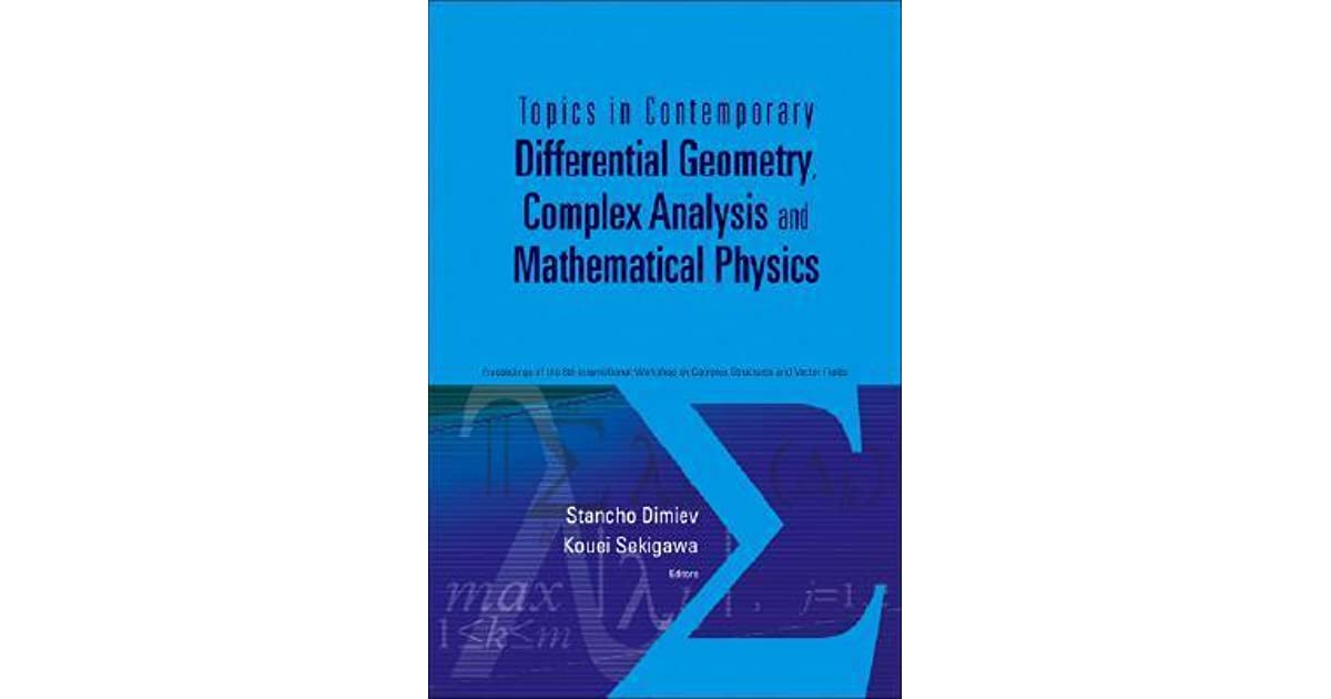 Differential geometry, analysis, and physics