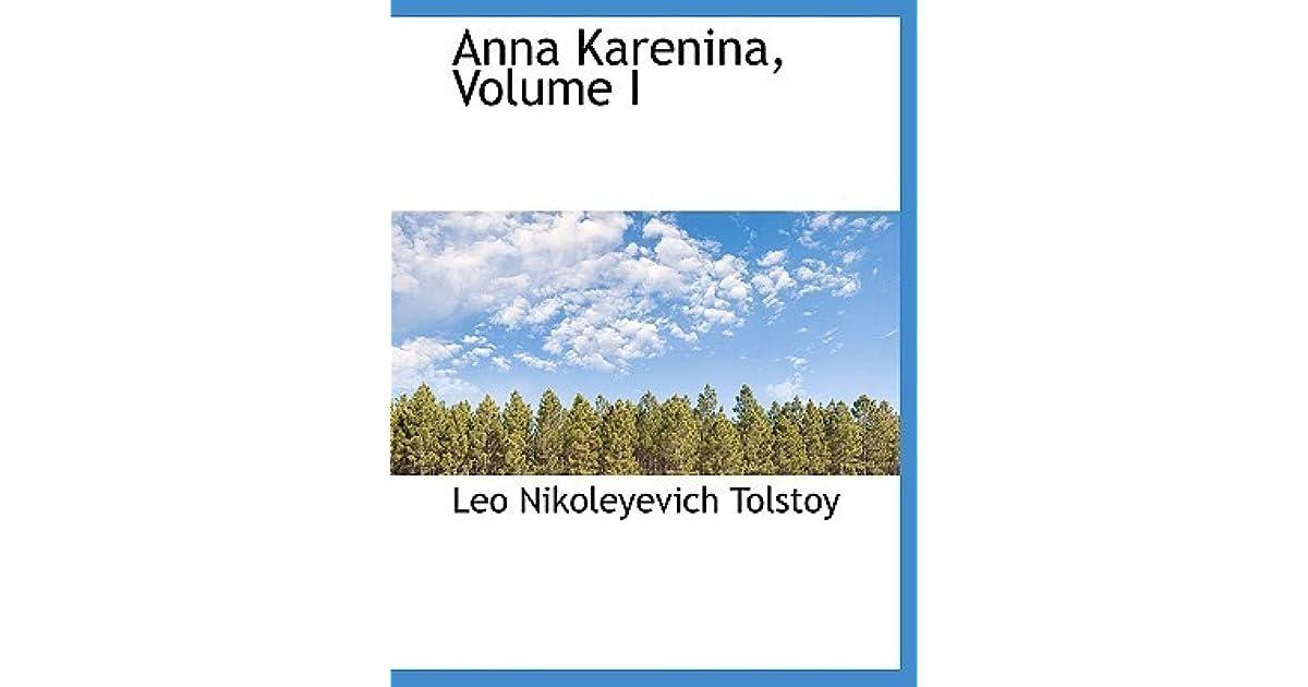 Zala Slovenias Review Of Anna Karenina Vol 1 Of 2