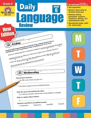 Daily Language Review Grade 6+ by Evan-Moor Educational