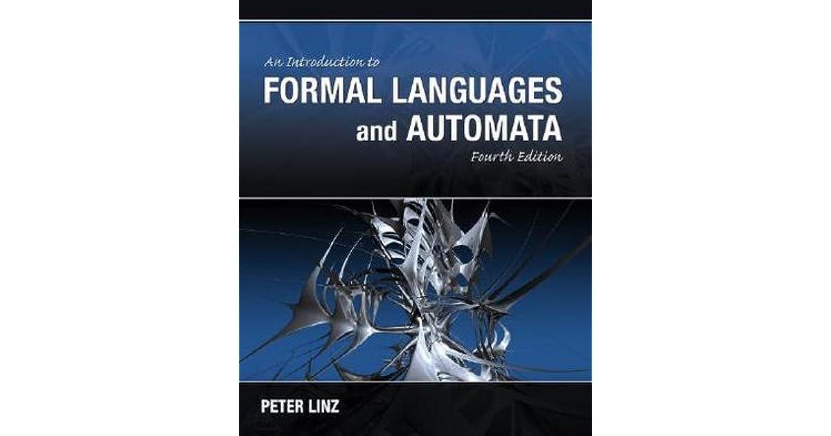 Peter Linz Theory Of Computation Ebook