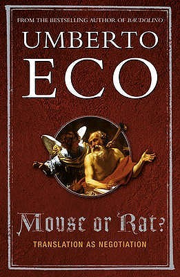 Mouse or Rat? by Umberto Eco