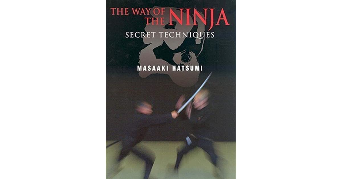 The way of the ninja secret techniques by masaaki hatsumi fandeluxe Choice Image