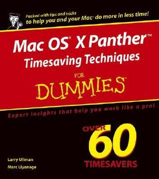 Mac OS X Panther Timesaving Techniques for Dummies (ISBN - 0764558129)