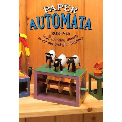 Paper Automata: Four Working Models to Cut Out and Glue