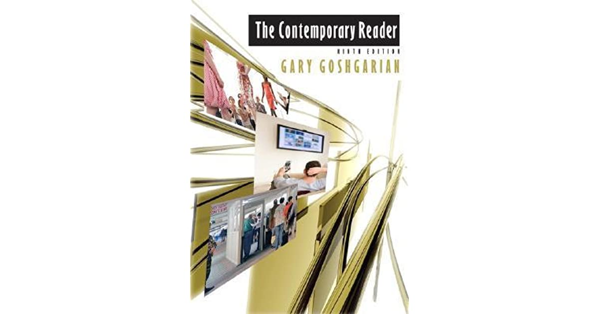 The contemporary reader by gary goshgarian fandeluxe Image collections