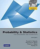 Probability & Statistics for Engineers & Scientists.