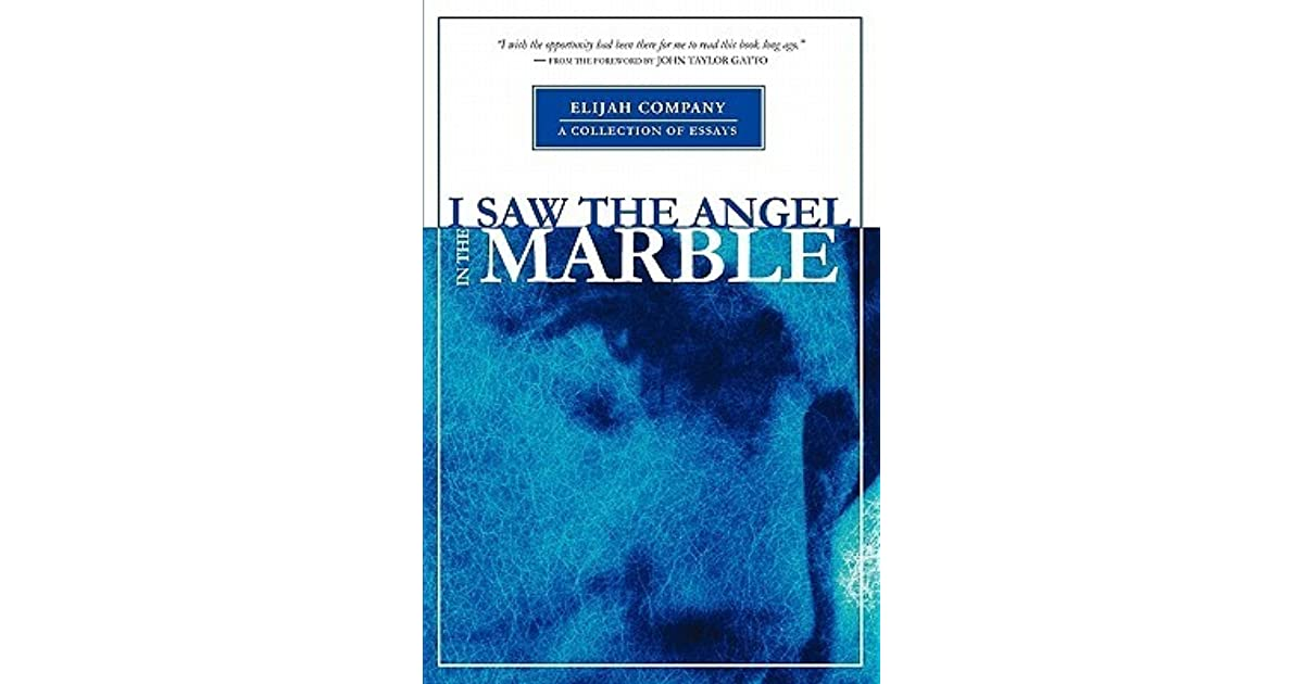 I Saw the Angel in the Marble by Chris Davis