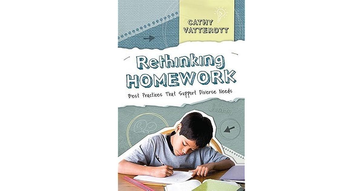 rethinking homework kohn