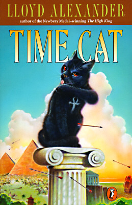"""Cover of """"Time Cat"""" by Lloyd Alexander"""