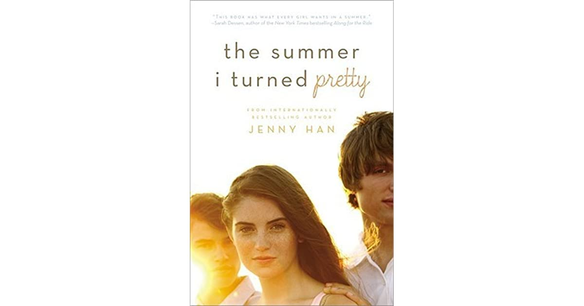 The Summer I Turned Pretty Book Cover Models ~ The summer i turned pretty by jenny han