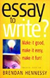 Essay To Write?