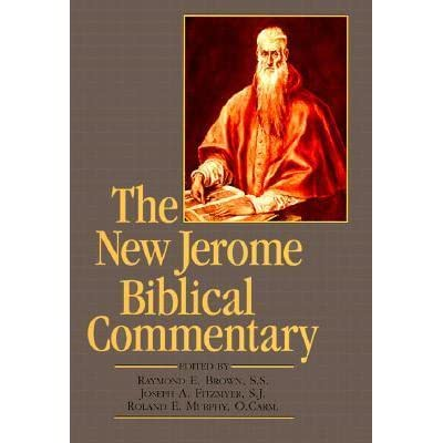 The New Jerome Biblical Commentary By Raymond E Brown