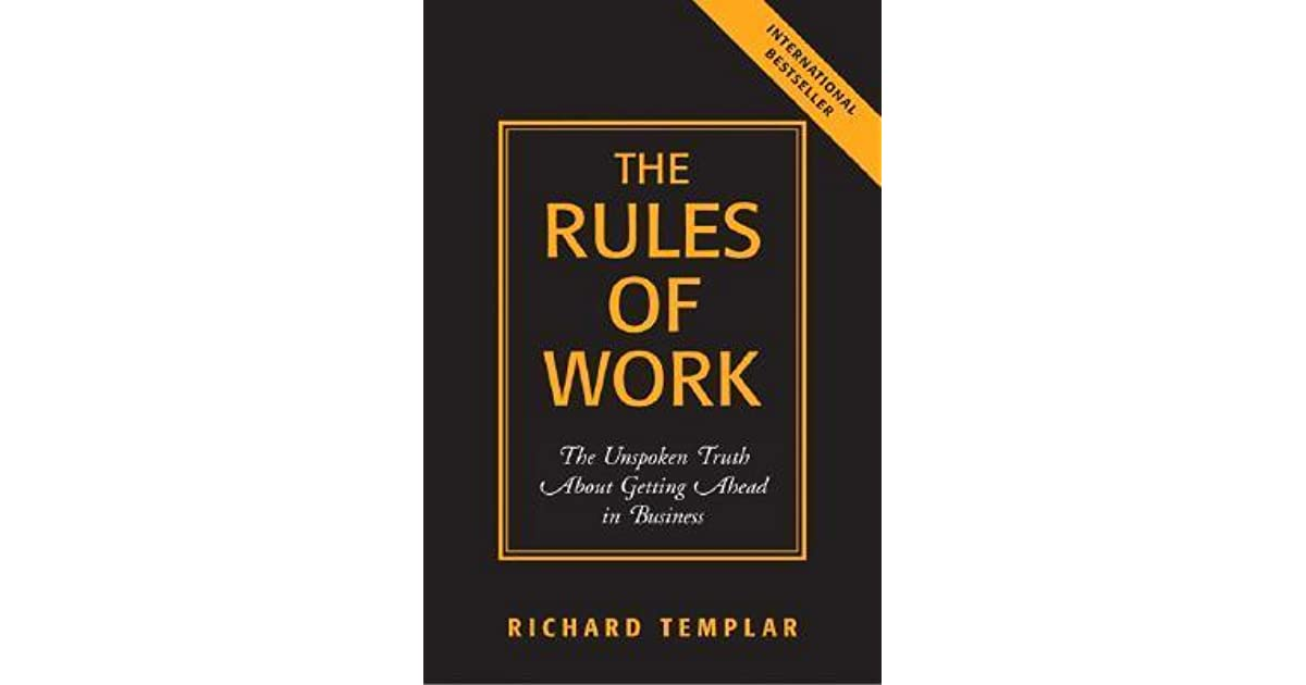 Rules Of Work Book
