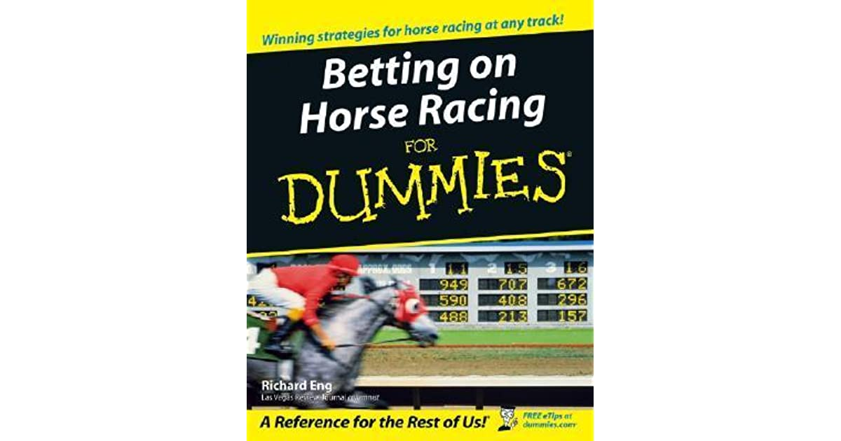 Local horse racing betting for dummies fantasy sports betting legal